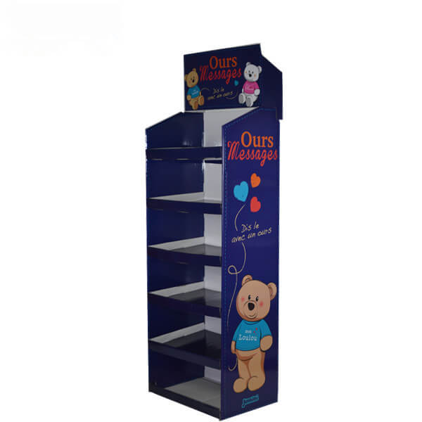Easily Assembled Custom Floor Displays For Toys