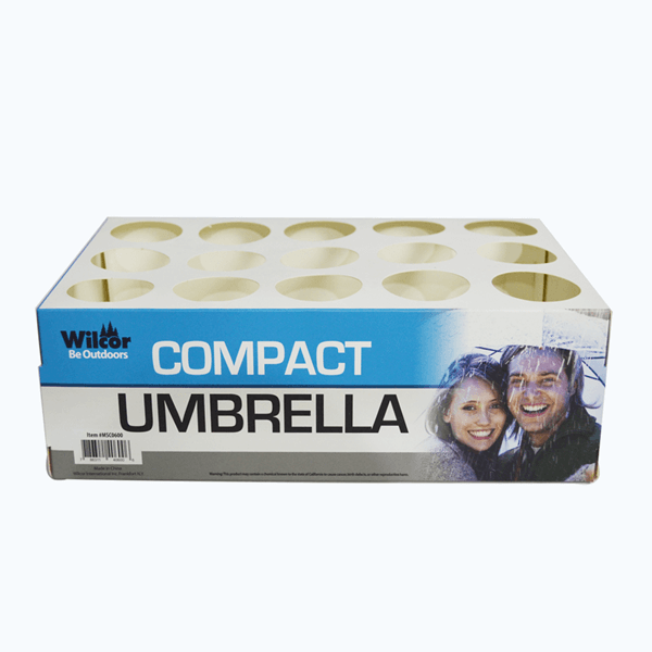 Waterproof Counter Display Boxes For Umbrella