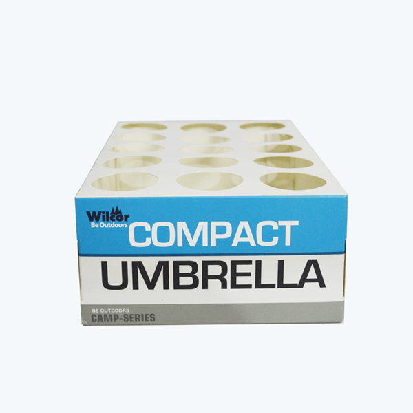 counter display boxes for umbrella