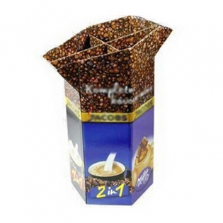 Best Sale Retail Dump Bin Display For coffee