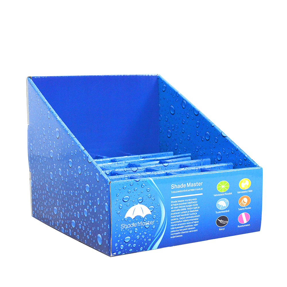Low Price Counter Display Box For Mini Umbrella