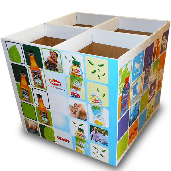 Dump Bins Product Promotion for Giant Food Stores