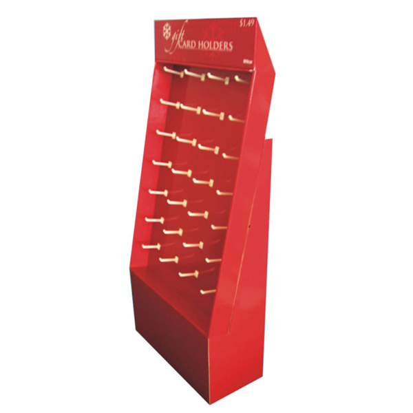 High Quality Pop Corrugated Sidekick Cardboard Display Stands
