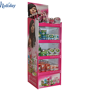 Promotional Cardboard Cosmetic Display Stand