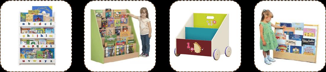 kid book displays