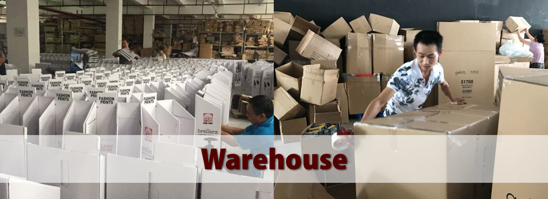 OUR 4800+ SQM Cardboard Display Factory
