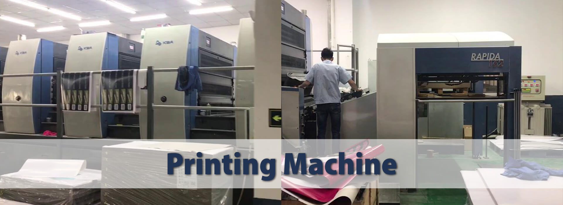 Our High Technology Production Machines