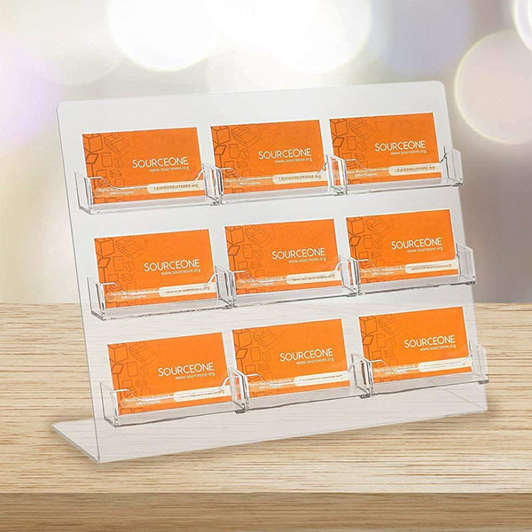 Acrylic Card Holder HLD-A009 | Factory Manufacturer