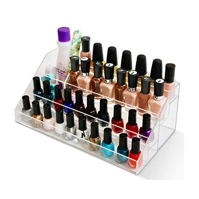 Factory Customized Acrylic Nail Polish Holder HLD-A014