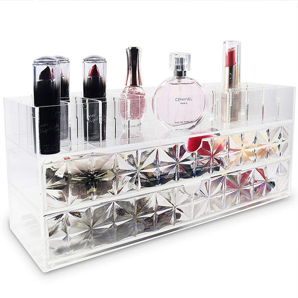 Factory Customized Acrylic Makeup Holder HLD-A013