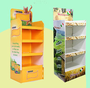 How to check whether the food and beverage display rack design structure is durable