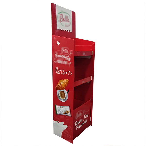 FSDU Customized Display Rack For Snack and Bread Promotional Display.   HLD-YPZ089