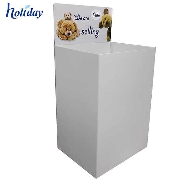 Delicate New Design Hot Sale Cardboard Dump Bin   HLD-YPZ094