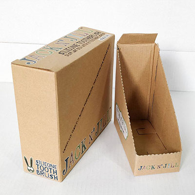 Corrugated and Cardboard Packaging for Retail Stores HLD-PB001
