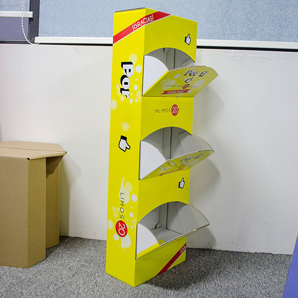 cardboard point of sale display