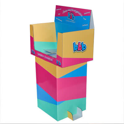 Cardboard Merchandising Displays  HLD-DB001
