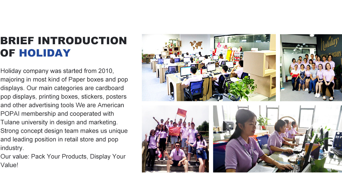 brief  introduction of lanshow holiday cardboard  display and packaging factory