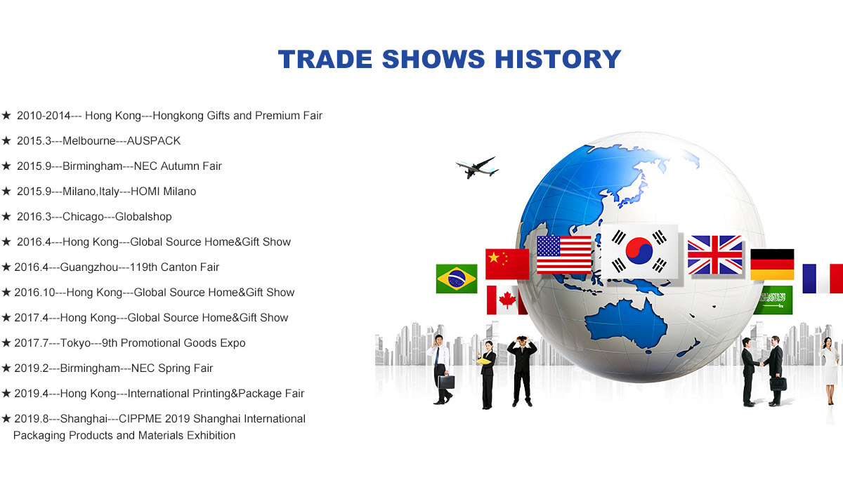 trade  show history of lanshow holiday display