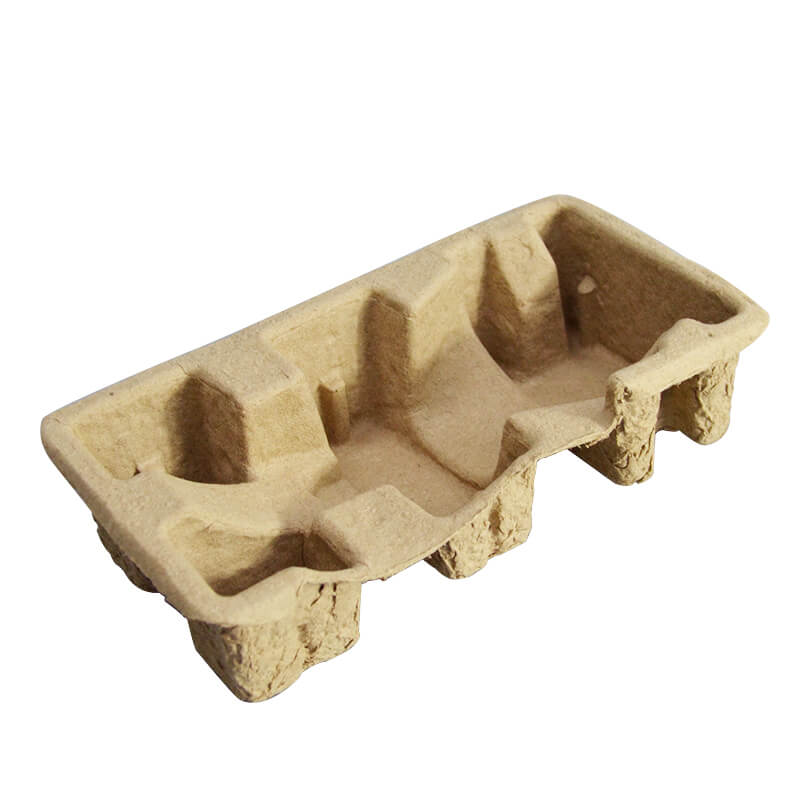 Pulp Eco Friendly Paper Pulp Tray Custom Paper Pulp Mold Insert Tray