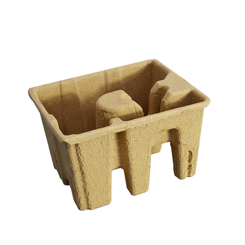 Paper Pulp Molded Packaging Tray For Printer