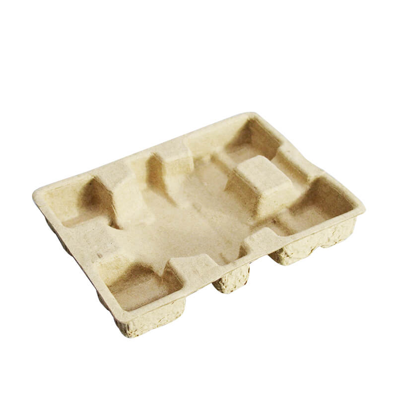 Molded Pulp Pulp Tray Molded Pulp Electronics Tray Bagasse Mould Pulp For Electronics