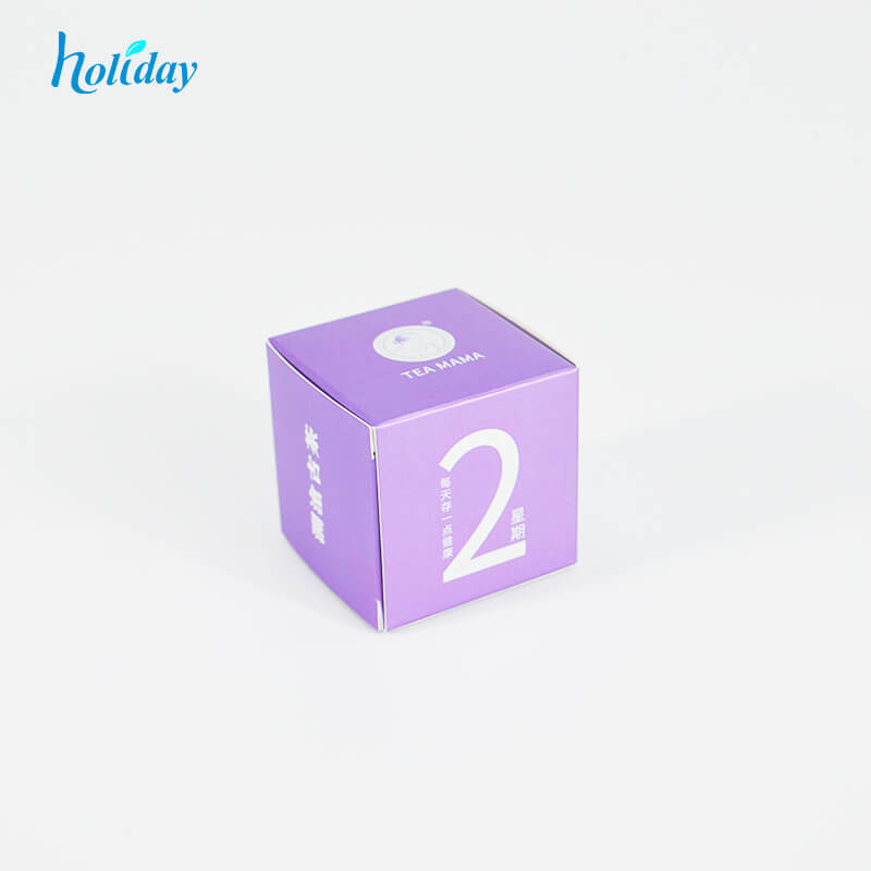 Holiday Luxury custom cosmetic paper box