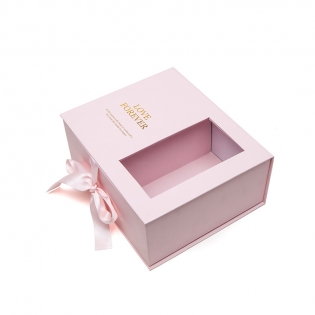 Wholesale Fashion Eco-friendly Cardboard Birthday Wedding Packaging Display Box With Windows paper Gift Box