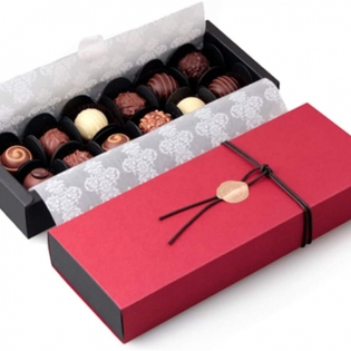 Wholesale Wedding Party Paper 12 Cavity Chocolate Gift Packaging Box