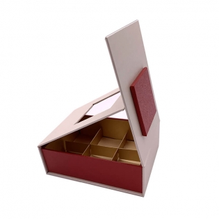 Wholesale Custom High Quality Rigid Carton Folding Chocolate Gift Box