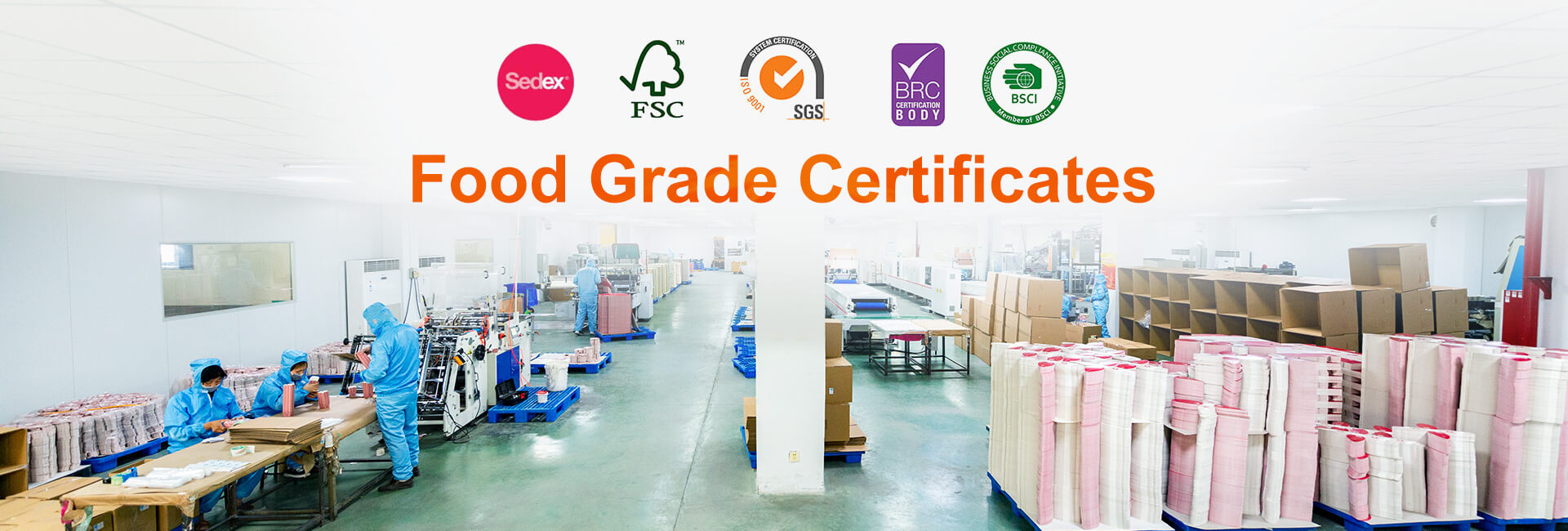 Food grade packaging production line of Chinese manufacturers